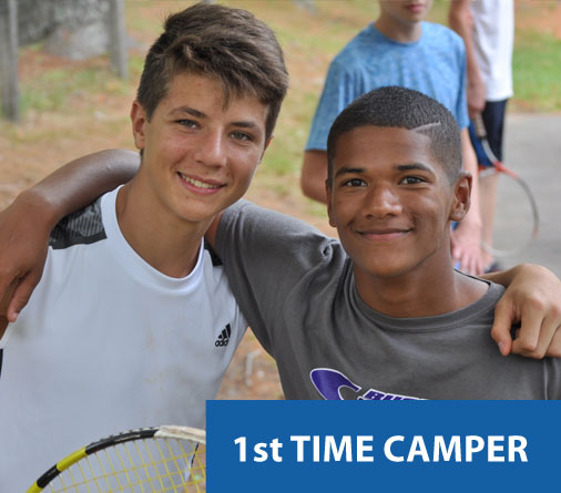 Camp Hilltop summer camp first time camper information